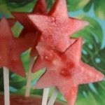 Watermelon pops by The Hungry Housewife