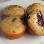 Fruited muffins- Dishing Up Delights