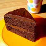 Healthy chocolate cake by Healthy Indulgences