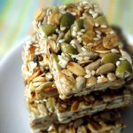 Homemade snack bars by Food 4 Tots