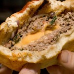 Juicy Lucy Burgers- Food Mayhem