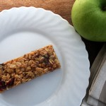 Nut free granola bars by Vegan Visitor
