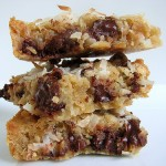 Coconut Chocolate Chip Blondies from Tracey's Culinary Adventures