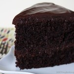 Black Magic Chocolate Cake from My Baking Addiction