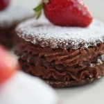 Chocolate Mousse Shortbread Cookies from Ceramic Canvas
