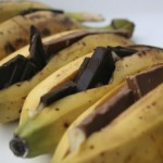 Bananas. Chocolate. BBQ. Beautiful!  from On Food and Wine