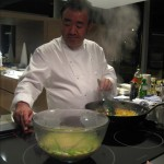 Tetsuya prepares a delicious chicken tagine with couscous