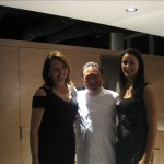 Audrey and Baha from Electrolux with Tetsuya