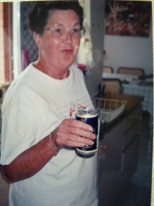 Nana and a Beer