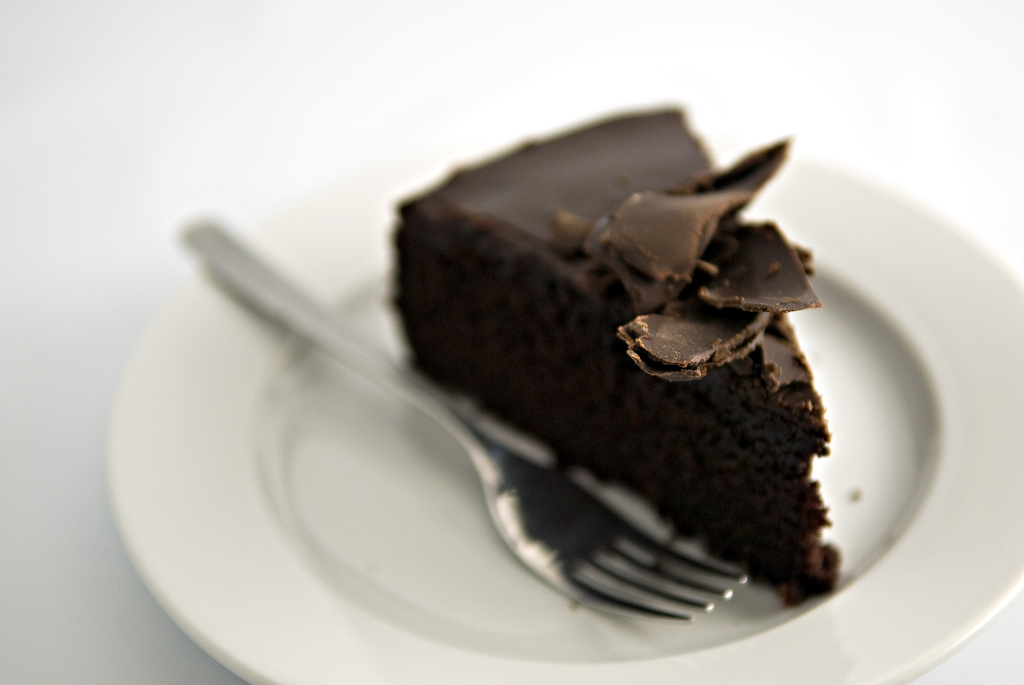 Deep, Dark, Rich and Delicious Chocolate Cake