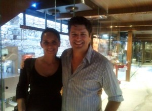 Bridget Davis (The Internet Chef) and Anthony Puharich