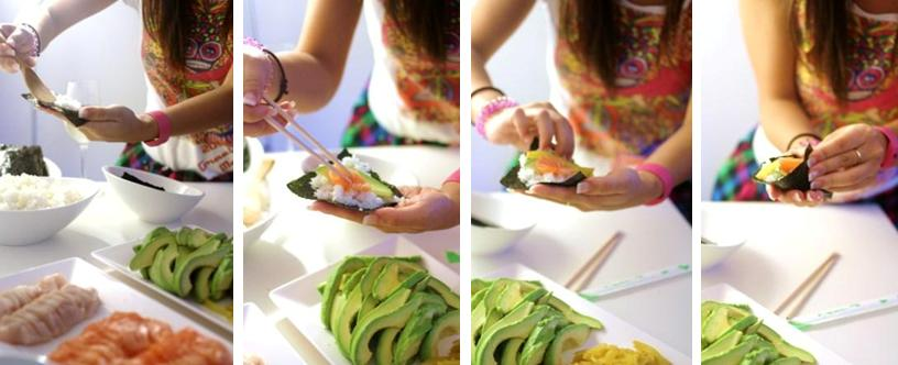 How To Make Your Next Kids Birthday A Sushi Party The