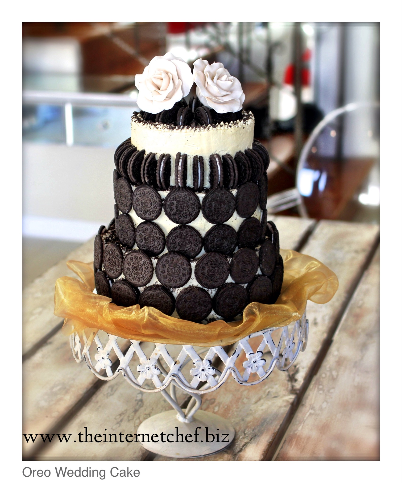 "to say 'I do' than with an ""Oreo Cookie & Toblerone Wedding Cake ..."