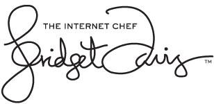 Bridget Davis The Internet Chef
