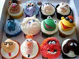 Meet The Muppets ~ Cupcakes Style