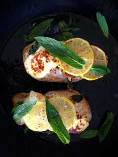 Lemon haloumi Chicken 2