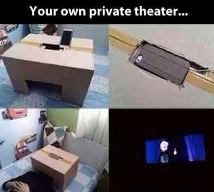 mini private theatre