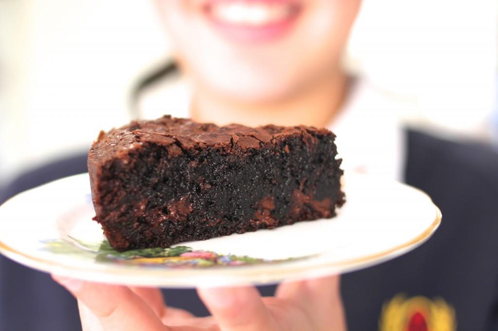 Chocolate Fudge Gluten Free Brownie