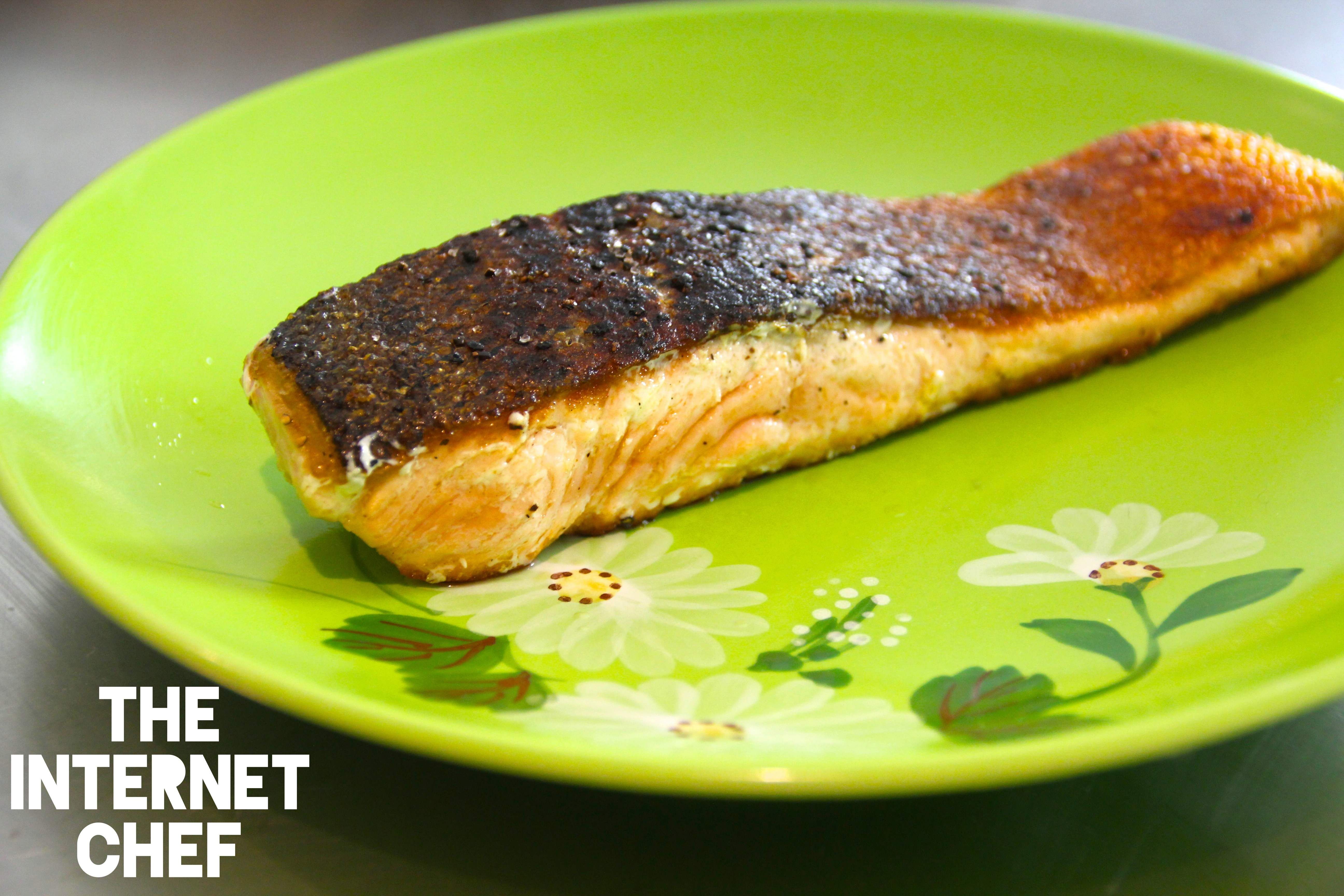 Chefs Tip How To Make Crispy Skin Salmon & Some Interesting Health Benefits  Of Eating It+