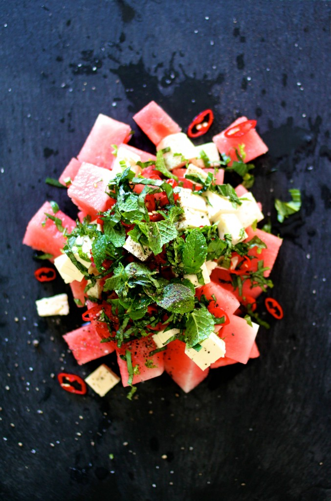 watermelon and fetta